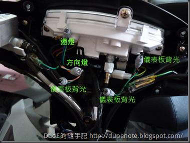 SYM 三陽金發財 125 換 LED 儀表板背光
