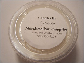 Candles By Victoria - Marshmallow Campfire