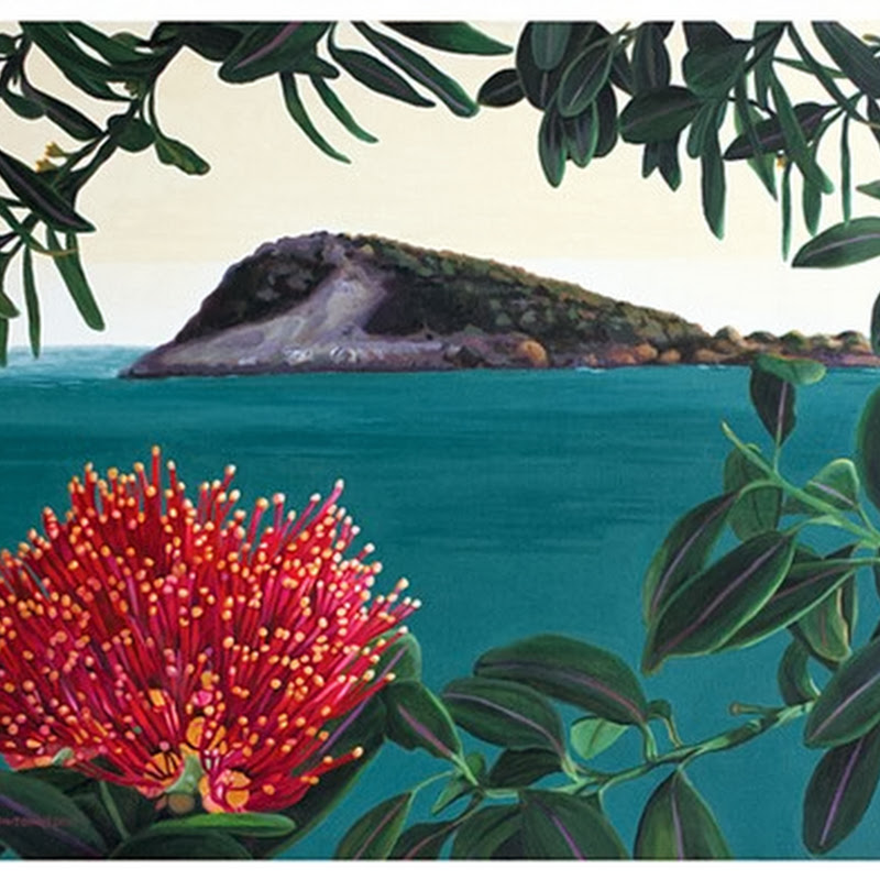 Kerry Fenton-Johns - Living the Life of a Full Time Painter in New Zealand