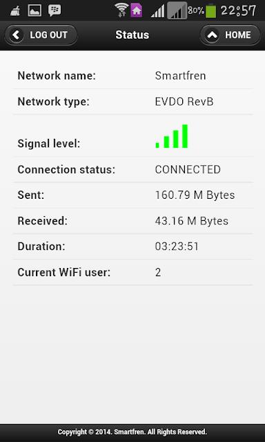 Modem Router Connex M1
