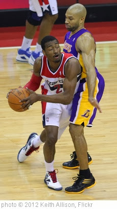 'John Wall, Derek Fisher' photo (c) 2012, Keith Allison - license: http://creativecommons.org/licenses/by-sa/2.0/