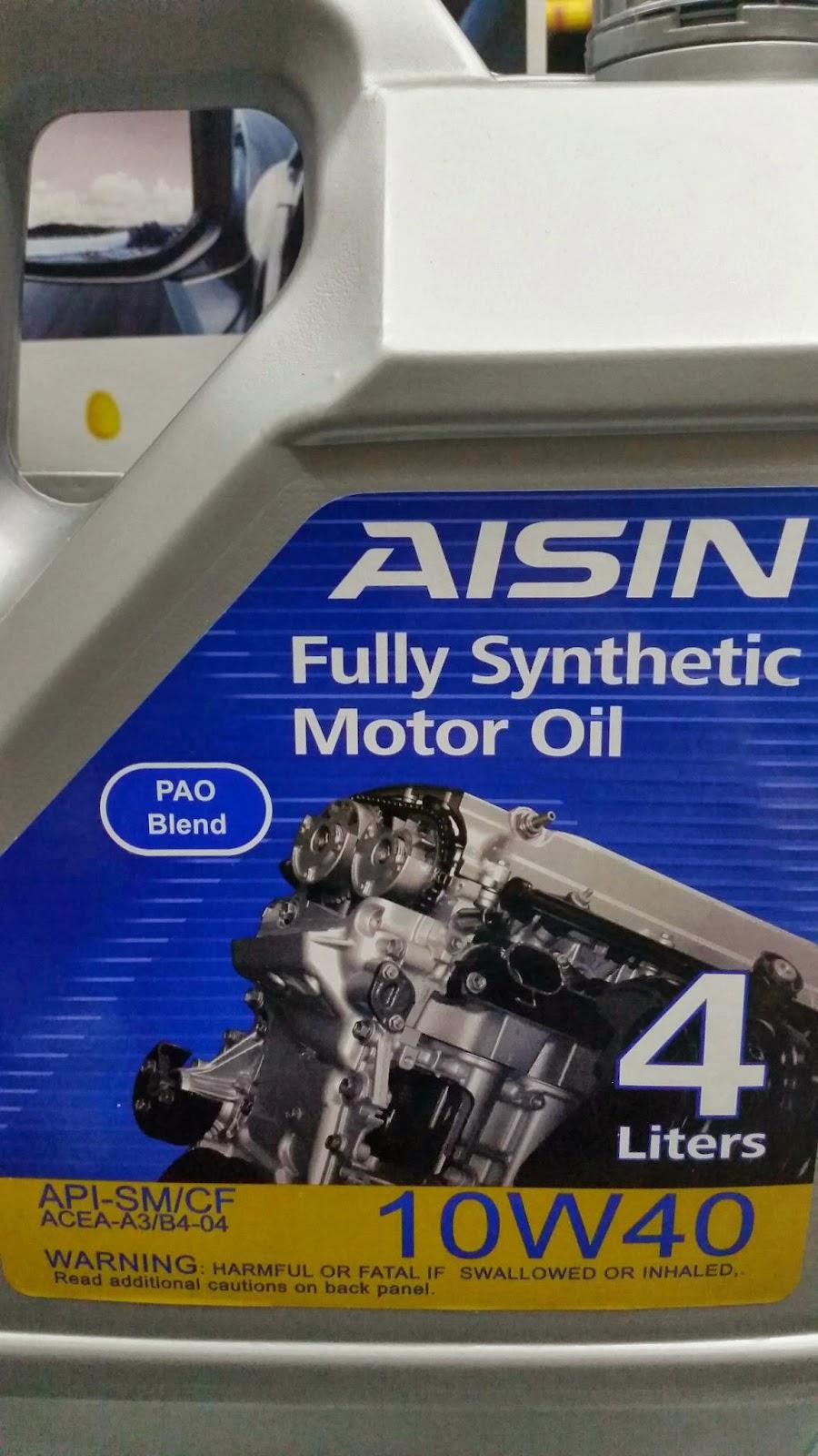 All New AISIN Motor Oil