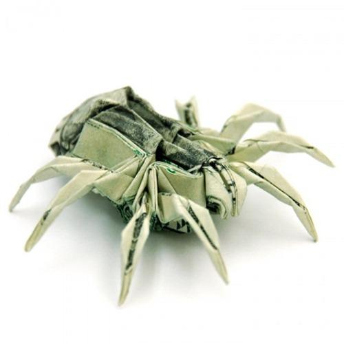 Origami de dinheiro 07
