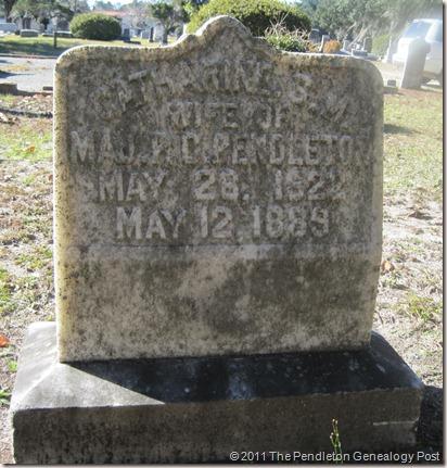 Gravestone Catherine Tebeau