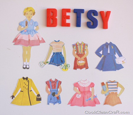 Magnetic Paper Dolls (4)