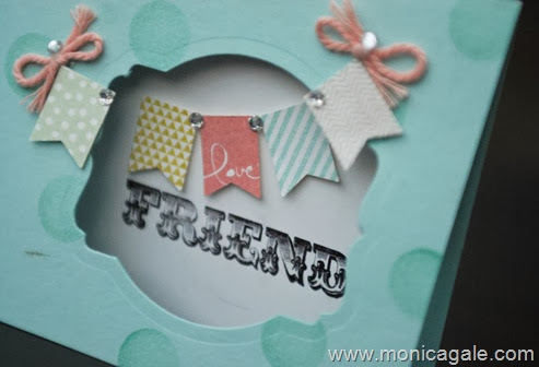 Stampin'Up banner blast by Monica Gale 1