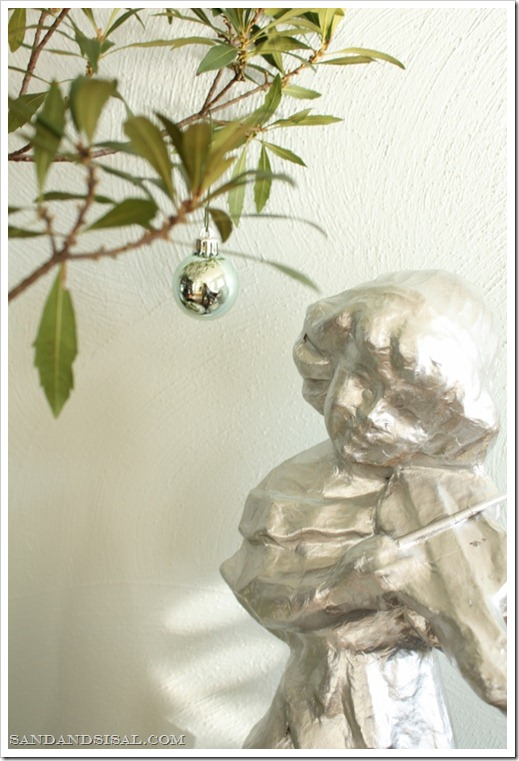 Angel and ornament