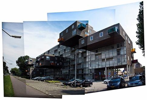 53. Wozoco Apartments (Amsterdam, Holanda)