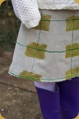 KM Skirt front