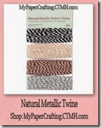 twine-natural metallic-200