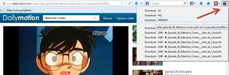 Download dailymotion ใน Firefox แบบง่ายๆ