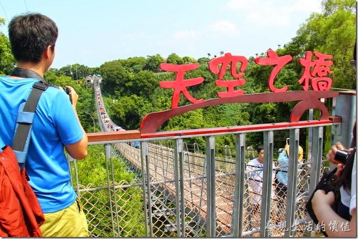 南投猴探井【天空之橋】體驗漫步雲端的感覺