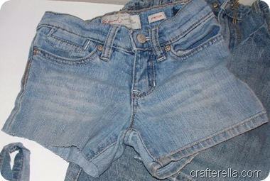 jeans to shorts P2