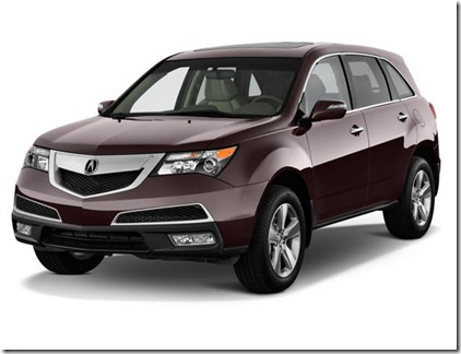Pic Photo New Car Gambar Wallpaper Photo Spy Acura MDX 2012