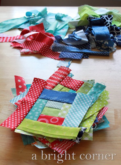 scrappy string blocks