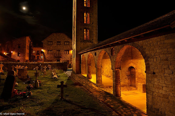Esglesia romanica de Santa Eulalia d'Erill la Vall, segles XI i XII.Patrimoni Mundial (Unesco)La Vall de Boi, Alta Ribagorca, Lleida
