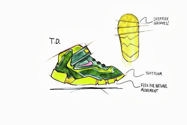 NIKE LEBRON 11 TREX Big Inspiration for Small Feet