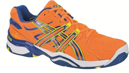 ASICS renueva el look de sus zapatillas de pádel para este próximo Otoño-Invierno 2012.