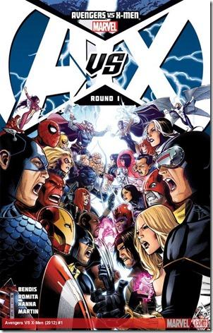 A vs X #1 detail