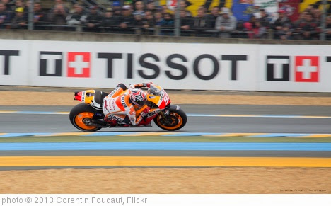 'Marc Marquez, Repsol Honda Team' photo (c) 2013, Corentin Foucaut - license: https://creativecommons.org/licenses/by-nd/2.0/