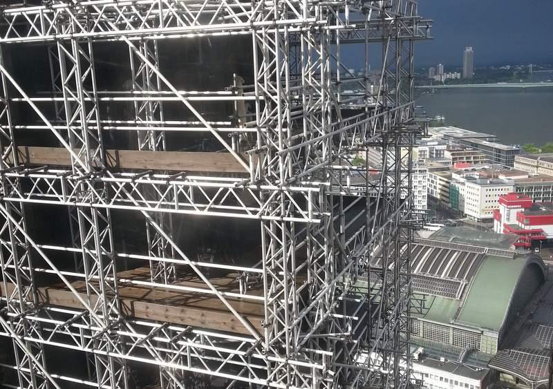Строительство Кёльнского собора