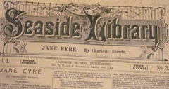 vintage Seaside Library publication Jane Eyre clsup