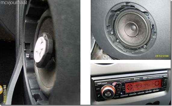 Inbouw speakers MCV 2009 15
