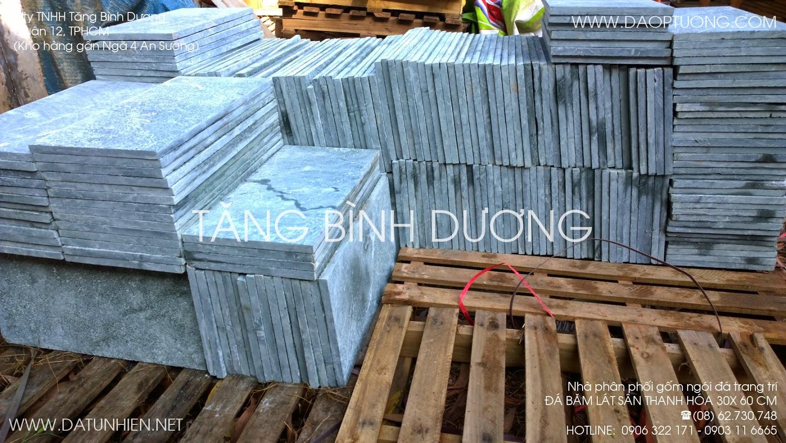 Đá băm lát sân 30x60 cm Thanh Hóa
