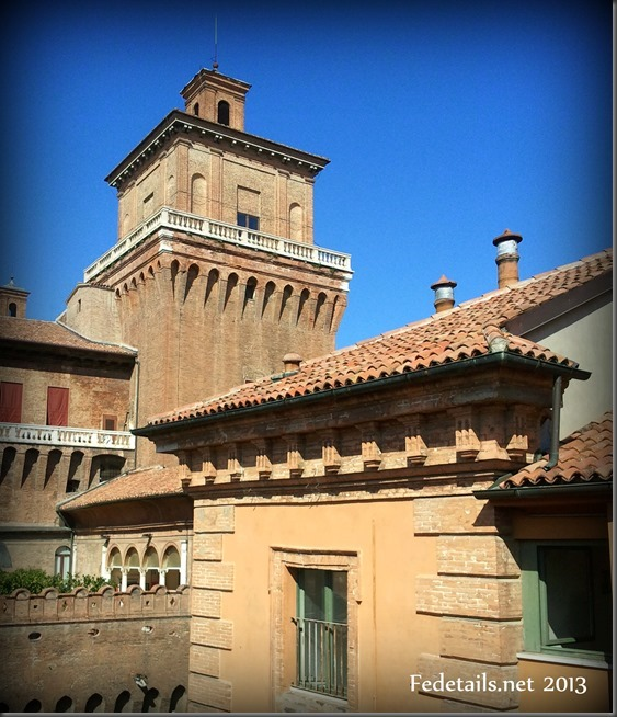 Castello Estense views, Ferrara, Italy, Photo2