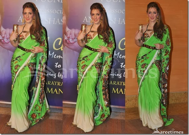 Green_Embellished_Saree