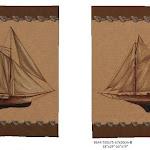 Gobeliny tematyce marynarskiej, statki
