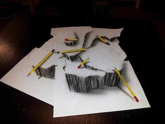 Desenhos 3D lápis (7)