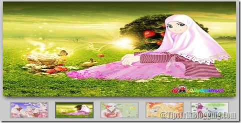 Image Slider Dengan Thumbnails
