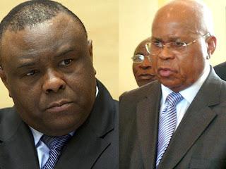 – De gauche à droite, Jean-Pierre Bemba et Etienne Tshisekedi.