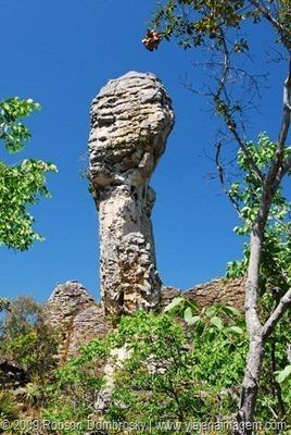 pedra dedo de Deus parque das sete cidades
