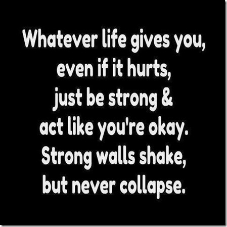 whatever life gives you