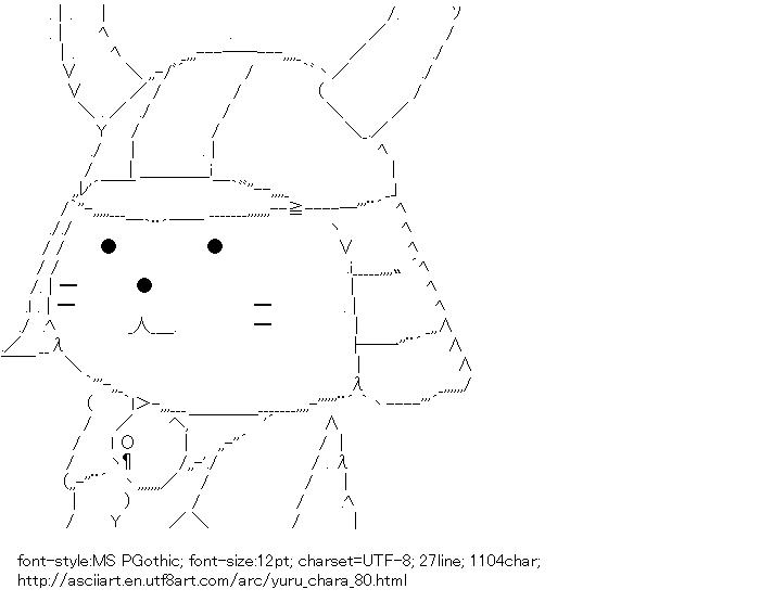 [AA]Hikonyan (Yuru-chara)