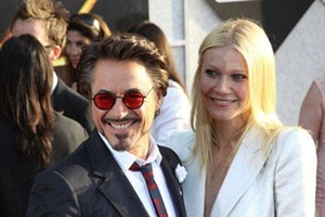 Robert Downey, Jr. and Gwyneth Paltrow