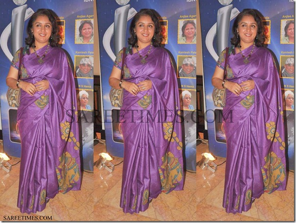 Revathi_Purple_Saree