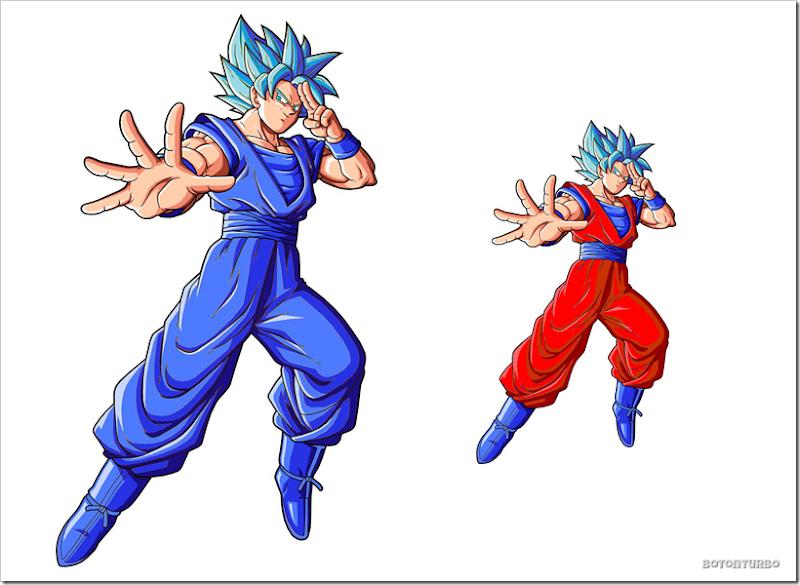 Gokú Super Saiyajin dios Azul