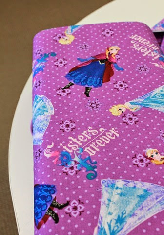 Fabrics with Elsa and Anna