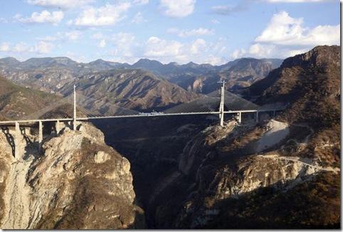 cel mai inalt pod din lume-Mexic