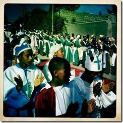 religious singing