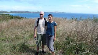 Bushwalk mit Whookie und Philip zu Wetterwarte und Strand.