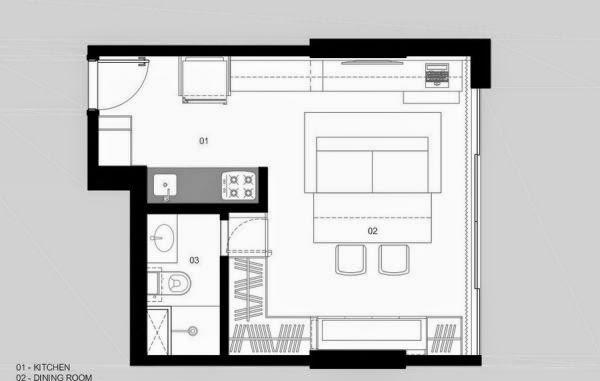 30m2 brazil aparterment  nhà hẹp 30 m2