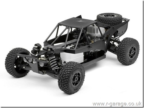 hpi revolution 18th petrol gasoline apache