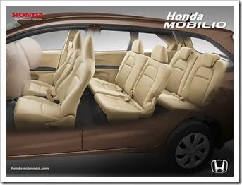 Interior Honda Mobilio 2014