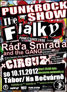 Tábor - Na Bečvárně (10.11.2012)