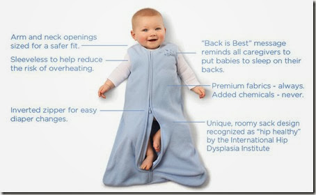 3. Halo SleepSack Features