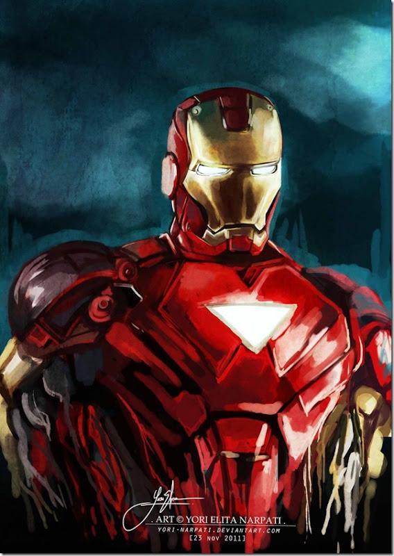 Iron man ,Anthony Edward ,Tony Stark (122)